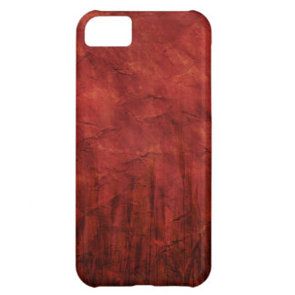 P092 BLOOD RED TEXTURE DIGITAL GRAPHICS TEMPLATES iPhone 5C COVERS