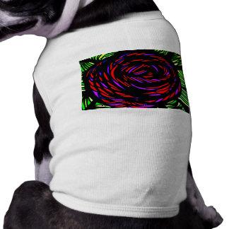P1000069-alt heavy metal rose dog t-shirt