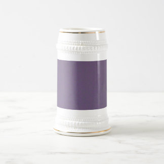 P1000183 SMOKEY PURPLE Grapes MAUVE DUSTY TEXTURES 18 Oz Beer Stein