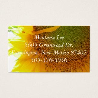 P1000206, Montana Lee5605 Greenwood Dr.Farmingt... Business Card
