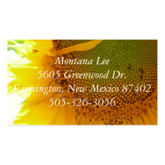P1000206, Montana Lee5605 Greenwood Dr.Farmingt... Double-Sided Standard Business Cards (Pack Of 100)