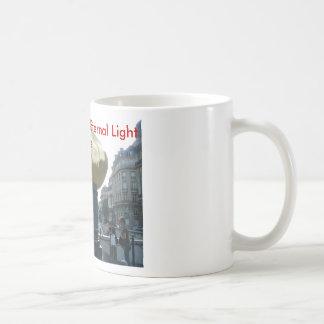 P1000293, Princess Diana Eternal Light Paris Classic White Coffee Mug