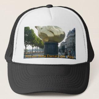 P1000293, Princess Diana Eternal Light.. Paris Trucker Hat