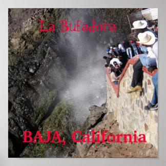 P1010050, La Bufadora, La Bufadora, BAJA, Calif… Posters