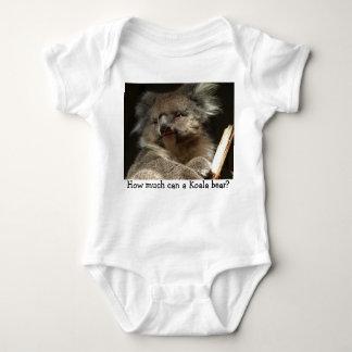 P1010098, How much can a Koala bear? Baby Bodysuit