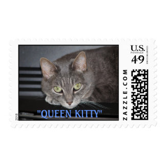"""P1013981, """"QUEEN KITTY"""" POSTAGE"""