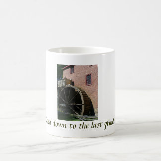 P1050418, Good down to the last grind... Coffee Mug