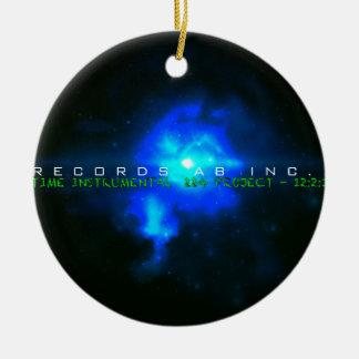 P10 The VCVH Records AB .Indie Music LLC.jpg Ceramic Ornament