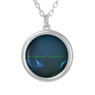 P11 The VCVH Records AB .Indie Music LLC.jpg Round Pendant Necklace