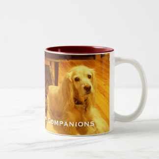 P1200032, Oakhurst Animal Companions Two-Tone Coffee Mug