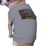 P1 Floral Expression pet wear Dog Tshirt