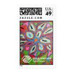 P1 Postage Stamp- Floral Expression