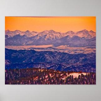 P2160046_Cripple Creek Mountains Poster