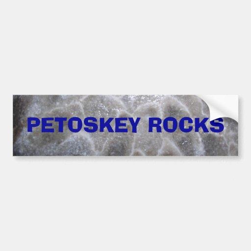 P2200029, AMO las ROCAS de PETOSKEY -… - modificad Etiqueta De Parachoque