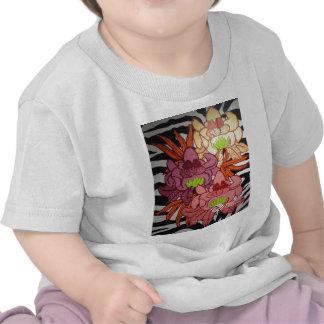 P2 Floral Zebra Mural Shirts