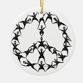 P2 People of Peace Christmas Ornaments