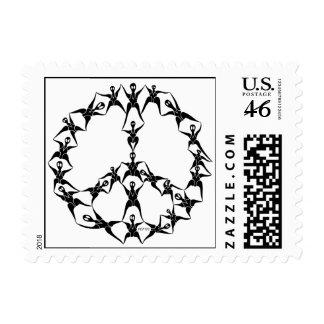 P2 People of Peace Postage