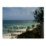 P3030418, Enjoy this view. Visit Eleuthera in t... Postcard