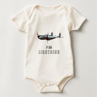 P38 Lightning Baby Bodysuit