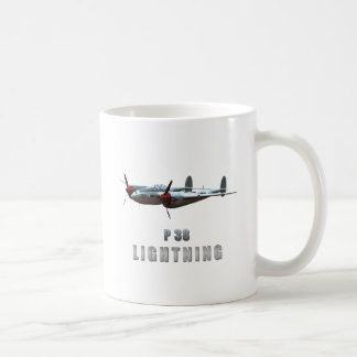 P38 Lightning Coffee Mugs