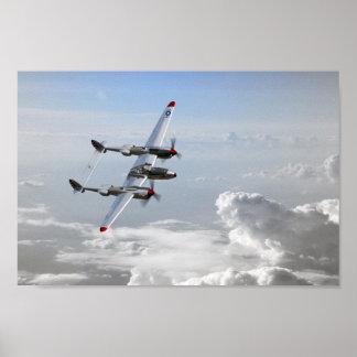 P38 Patrol Poster