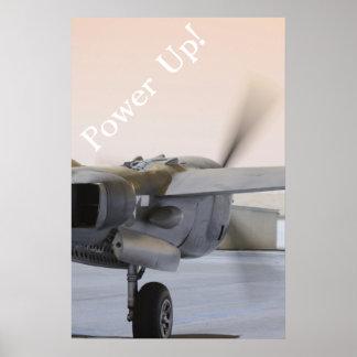 P38 Powering Up Poster