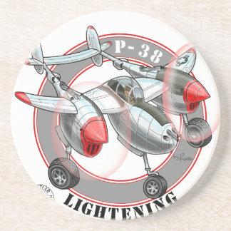 p38lightening.png posavasos personalizados