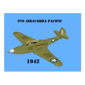 P39 Airacobra Pacific, 1942 Postal