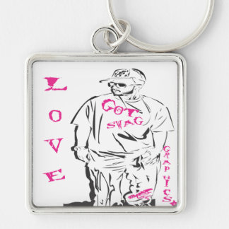 p3 got swag collection LOVE Keychain