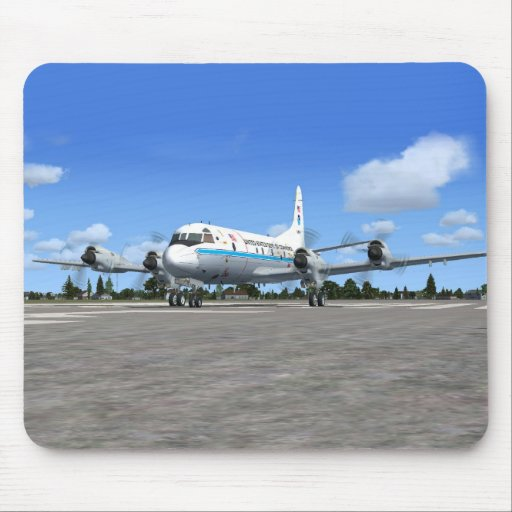 P3 Orion NOAA Weather Plane Mouse Pad