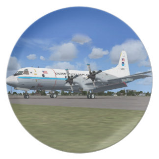 P3 Orion NOAA Weather Plane Plate