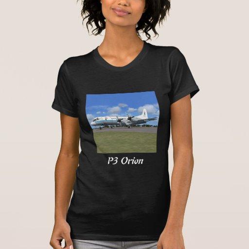P3 Orion NOAA Weather Plane Tee Shirts