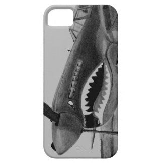 P40 Sharkmouth iphone case iPhone 5 Cases