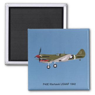 P40E Warhawk Fighter Magnet