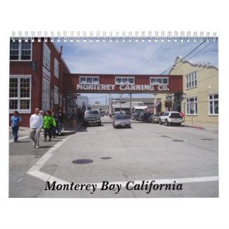 P5160257 bahía California de Monterey Calendario