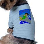 P51 modelo camisa de mascota