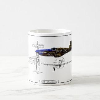 P51 Mustang Coffee Mug