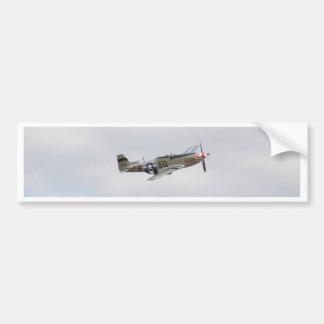 P51 Mustang Fighter Bumper Sticker