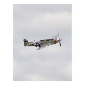 P51 Mustang Fighter Postcard