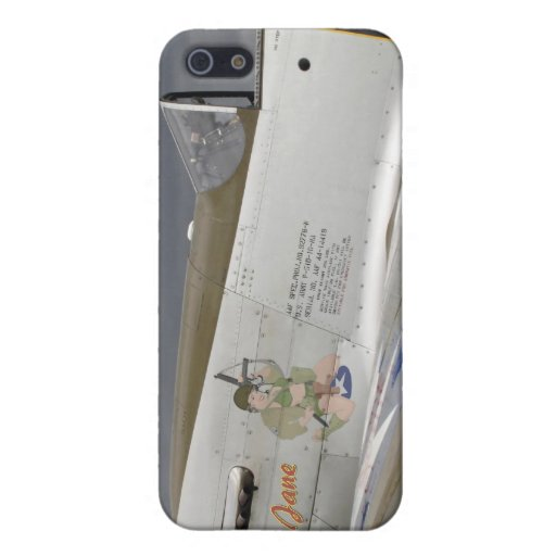 """P51 Mustang """"GI Jane"""" X iPhone 5 Cover"""