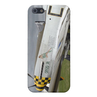 "P51 Mustang ""Ginger Sal"" X Case For iPhone SE/5/5s"