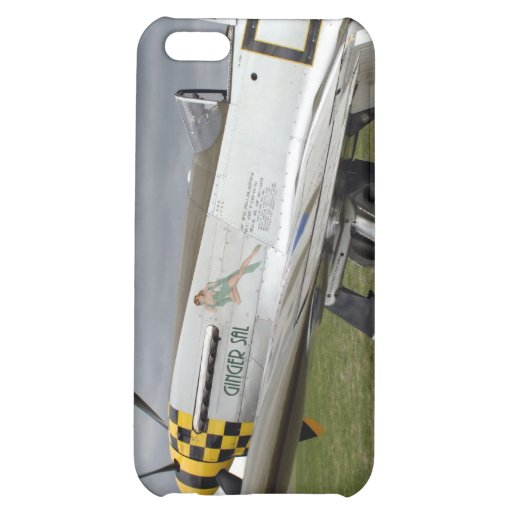 """P51 Mustang """"Ginger Sal"""" X Cover For iPhone 5C"""