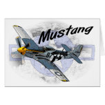 P51 Mustang Greeting Card