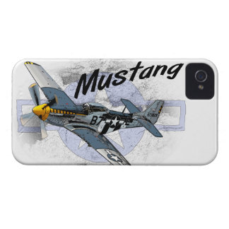 P51 Mustang iPhone 4 Case