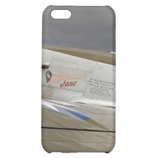"""P51 Mustang """"Jane"""" X Cover For iPhone 5C"""