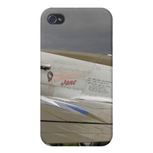 """P51 Mustang """"Jane"""" X iPhone 4/4S Case"""
