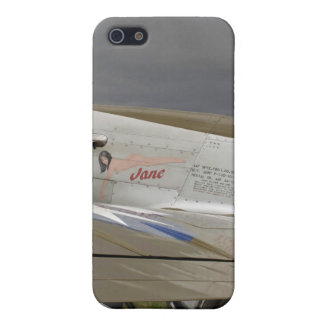 "P51 Mustang ""Jane"" X iPhone SE/5/5s Cover"