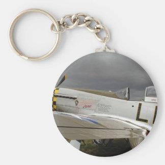 """P51 Mustang """"Jane"""" X Keychain"""
