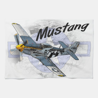 P51 Mustang Kitchen Towel