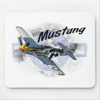 P51 Mustang Mouse Pad